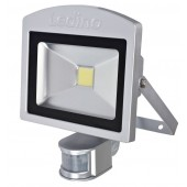 LED-Strahler mIR Dahlem 20SWI, 20W, 3000K, silber