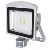 LED-Strahler mIR Dahlem 30SWI, 30W, 3000K, silber