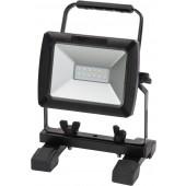 Mobile Akku SMD-LED-Leuchte IP54 10W 730lm Akku auswechselbar mit Netzteil