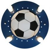 Fußball Ø 50 cm blau 1-flammig halbrund