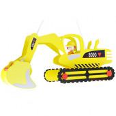 Bagger mit Bodo Länge 60 cm gelb 1-flammig eckig