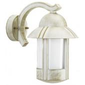 Grinds Down Höhe 30 cm weiß-gold 1-flammig zylinderförmig