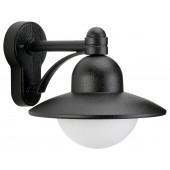 Wandleuchte Nr. 1850 Farbe: schwarz, für 1 x QA55 - 57W, E27