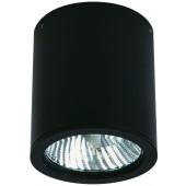 Bidane Ø 11 cm schwarz 1-flammig zylinderförmig