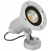 Wandstrahler Nr. 2381 Farbe: silber, mit 1 x LED 32 W, 4480 lm, 3000 K