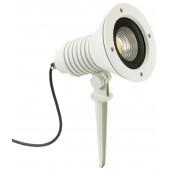 Spießstrahler Nr. 2383 Farbe: weiß, mit 1 x LED 32 W, 4480 lm, 3000 K