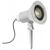 Spießstrahler Nr. 2383 Farbe: silber, mit 1 x LED 32 W, 4480 lm, 3000 K