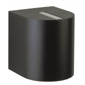 Nr. 2401, schwarz, Lichtaustritt eng/breit, 2 x LED 6,7W, je 600 lm, 3000 K