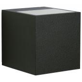 Nr. 2417 schwarz, Lichtaustritt breit/breit, 2 x LED 6,7W, je 600 lm, 3000 K