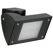 Wandstrahler Nr. 2429 Farbe: anthrazit, mit 1 x LED 16 W, 1600 lm