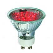 Leuchtmittel GU10 1 W rot
