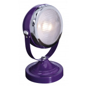 Car Lamp Höhe 30 cm violett 1-flammig rund