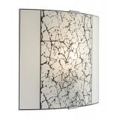 Jura Wall Höhe 26,5 cm weiß 1-flammig eckig