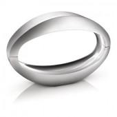 Nister Länge 30 cm metallisch 1-flammig oval