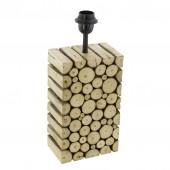 Ribadeo, Holz, Höhe 38,5 cm, E27