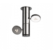 Lirio Torno Spot Ø 25,6 cm chrom 2-flammig zylinderförmig B-Ware