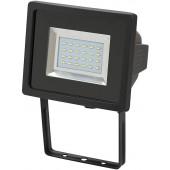 SMD-LED Strahler L DN 2405 IP44 24 x 0,5W schwarz, zur Wandmontage