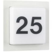 Roosty 24 x 24 cm weiß 1-flammig quadratisch