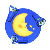 La Luna Round dunkelblau
