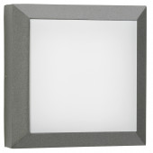 Wandleuchte Nr. 6560, anthrazit, LED 8W, 3000K