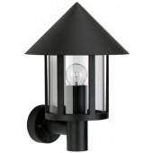 Wano Höhe 37 cm schwarz 1-flammig zylinderförmig