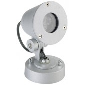 WL Strahler, silber, LED