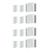 Function MaxLED Edge-Connector 4er Pack Weiß