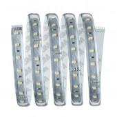 Function MaxLED 500 Basisset 1,5m Warmweiß 10W 230/24V 20VA Silber Kst