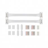 MaxLED Universal Verbinder Breite 10 cm weiß rechteckig