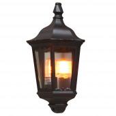 Firenze Höhe 44,5 cm schwarz 1-flammig halbrund