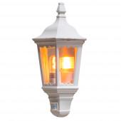 Firenze Höhe 49,5 cm weiß 1-flammig halbrund