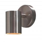 Modena Höhe 9 cm metallisch 1-flammig zylinderförmig