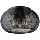 Sambo Ø 40 cm schwarz 1-flammig kugelförmig