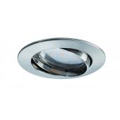 Coin Ø 8,3 cm metallisch 1-flammig rund
