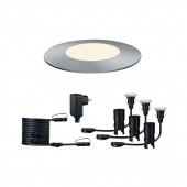 Plug & Shine Mini Set, LED, IP65, dimmbar, silber