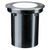 Plug & Shine Ø 14 cm silber 1-flammig rund 38° 3,3W 4000K