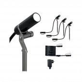 Outdoor Plug & Shine Spot Plantini Set Set 4000K