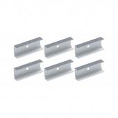 Outdoor Plug&Shine IP67 Stripe Clip 5cm 6 Stück