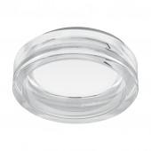 Pineda 1, Ø 9,7 cm, IP44, Weiß- klar