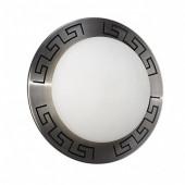 Corfu Ø 30 cm metallisch 1-flammig rund