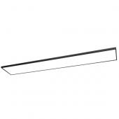 LED Panel Square 120 Länge 120 cm schwarz 1-flammig rechteckig