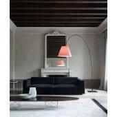 Lady Costanza Floor Schwarz (ohne Schirm), 217-250 cm, Standfuß, Dimmer