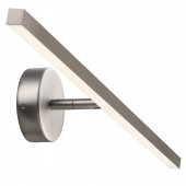 IP S13 Länge 60,3 cm metallisch 1-flammig rechteckig