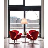 Lady Costanza Floor Alu (ohne Schirm), 217-250 cm, Standfuß, Dimmer