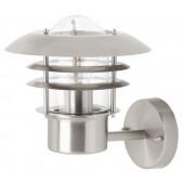 Terrence Höhe 25 cm metallisch 1-flammig zylinderförmig