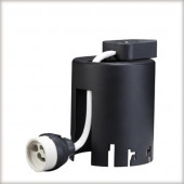 Einbautopf für Premium EBL Tiefe 11,4 cm schwarz zylinderförmig
