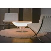 Lounge 45 Indoor, E27, Höhe 45 cm, Ø 84 cm, inkl Glasplatte