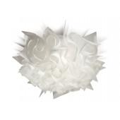 Veli Ø 53 cm weiß 1-flammig halbrund