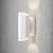 Modena Wandleuchte, Höhe 23,5cm, Weiß
