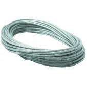 Wire System Sicherheits-Spannseil, Länge 12m, isoliert